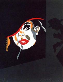 Toda la Ciudad Habla de Ello (99) by Eduardo Arroyo