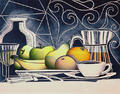 Breakfast with Fruits by Luis Yngüanzo