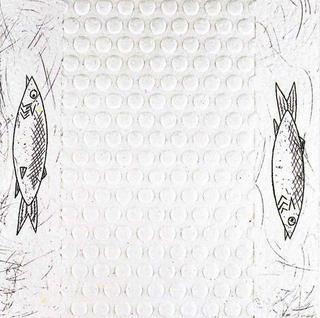 Carmen Amaya Frit Sardines. Waldorf Astoria (157) by Eduardo Arroyo