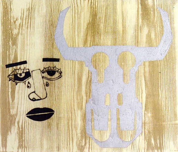 Concha Piquer's Portrait by Eduardo Arroyo