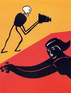 9 Novembre I (Femme) by Eduardo Arroyo