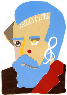 Brahms by Eduardo Arroyo