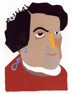 Rossini by Eduardo Arroyo