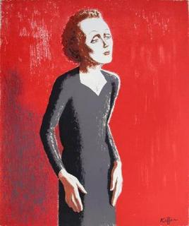 Edith Piaf by Charles Kiffer