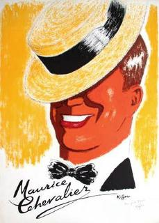 Maurice Chevalier by Charles Kiffer