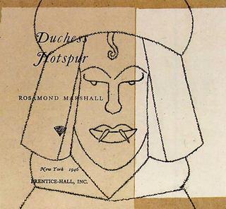 Duchess Hotspur by Eduardo Arroyo