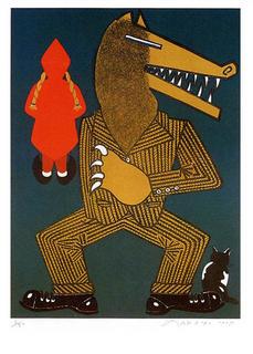 Chaperon Rouge by Eduardo Arroyo