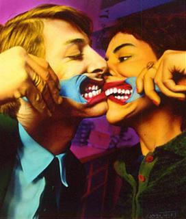 The Kiss by Ouka Leele