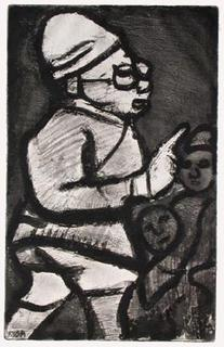 L'administrateur Colonial by Georges Rouault