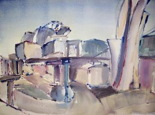 Guggenheim I by María Dieguez