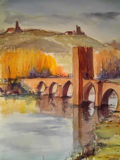 Frias' Bridge by María Dieguez