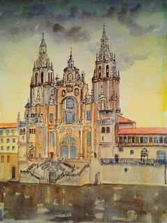 Santiago de Compostela by María Dieguez