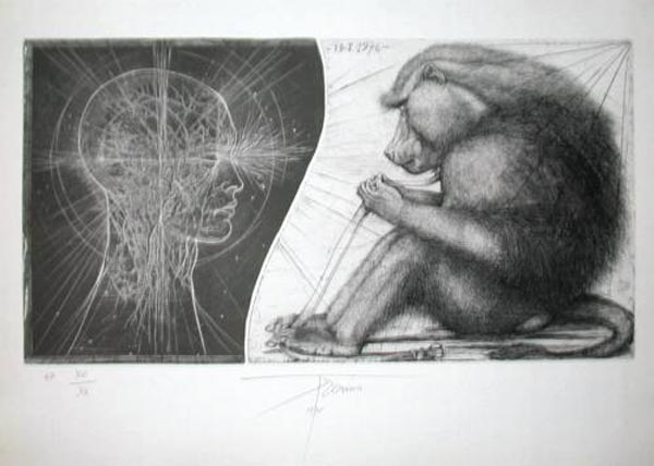 Hommage à Durer by Pierre Yves Tremois