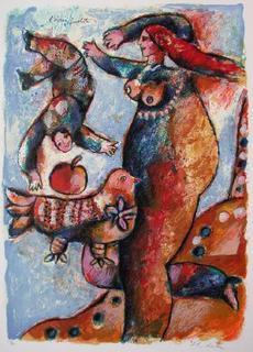 Un Chant d'Exil et de Lumière : L'Oiseau Prophète by Theo Tobiasse