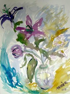 Purple Lily by Arnor Bieltvedt