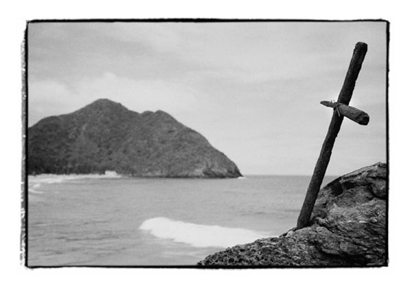 The Cross and the Sea (Chorini, Venezuela) by Joe Lasky