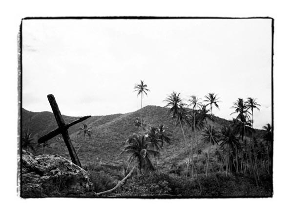 The Cross and the  Land (Chorini, Venezuela) by Joe Lasky
