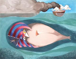 La Baleine by Enrique Marin