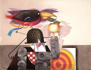 L'homme Oiseau by Enrique Marin