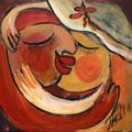 Love Embracement by Malka Tsentsiper