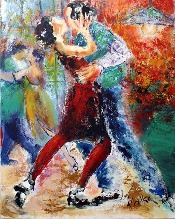 Tango 02 by Malka Tsentsiper
