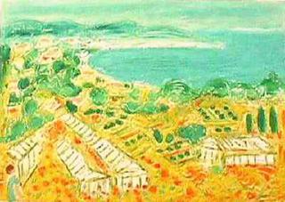 Floraison Méditerranéenne by André Cottavoz