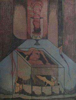 Les Vitriers 6 by Jorge Camacho