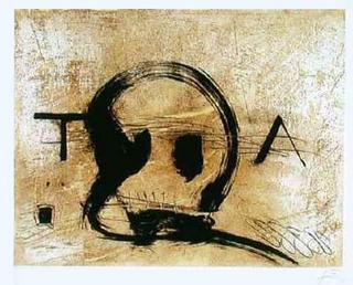 T.A. by Antoni Tàpies