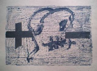Serie Llambrec Galfetti 545 by Antoni Tàpies