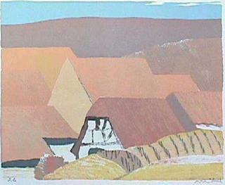 Fermes en Alsace by Roger Muhl