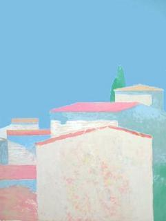 Les Maisons au Soleil by Roger Muhl