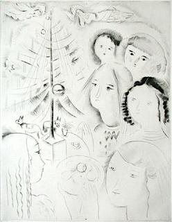 L'arbre de Noël I by Mily Possoz
