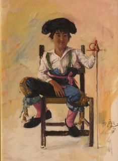 Bullfighter Kid by Toro Piris