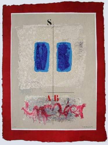 Deux Bleus et Écriture by James Coignard