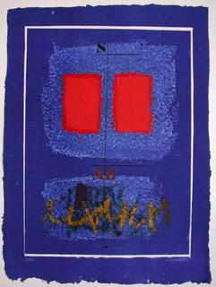 Deux Rouges et Écriture by James Coignard