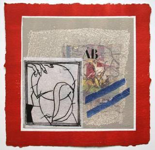Personnage et Rouge by James Coignard