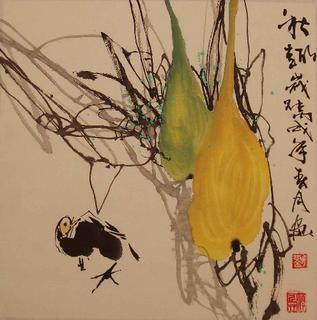 Autumn Scene by Shunxue Liu
