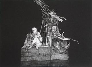 Compteurs d'étoiles by Philippe Mohlitz