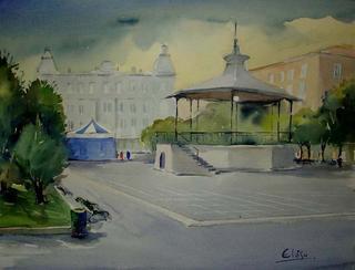 """Pombo's  Square - Santander by Enrique López Suárez """"Elosu"""""""