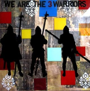We Are The 3 Warriors by Anan Pratchayanan