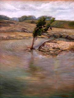 Rocky Water 3 by Kiattisak Siriphala