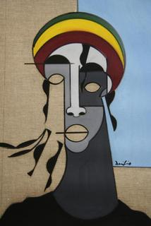 The Street Rasta by Duilio De Gennaro