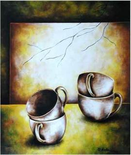 Empty Cups by Belinda Flores Shinshillas