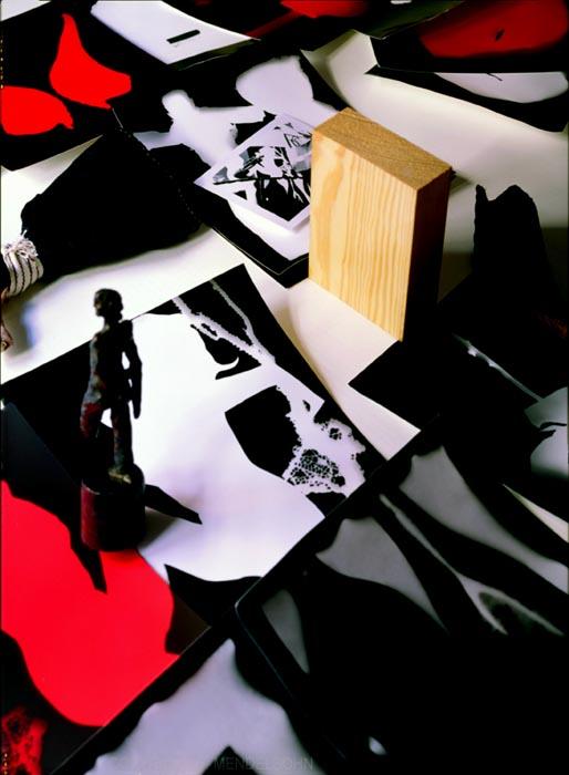 BlackWhiteRed by Timothy Mendelsohn