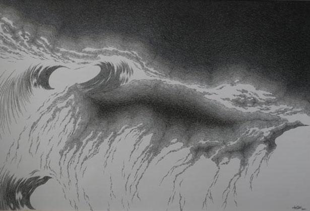 Rhythm of Tide 10 by Narupon Chutiwansopon