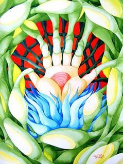 The Hand by Nantana Phonak