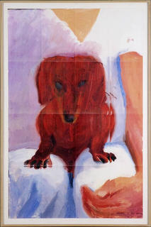 Portrait of Stanley by David Hockney