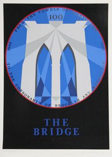 Brooklyn Bridge by Robert Indiana