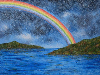 The Rainbow by Thongchai Laokittichok
