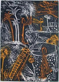 Paysage à l'échelle I by Louis Cane